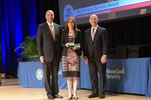 The Secretary's Meritorious Service Award 2014 - Rebekah Tosado