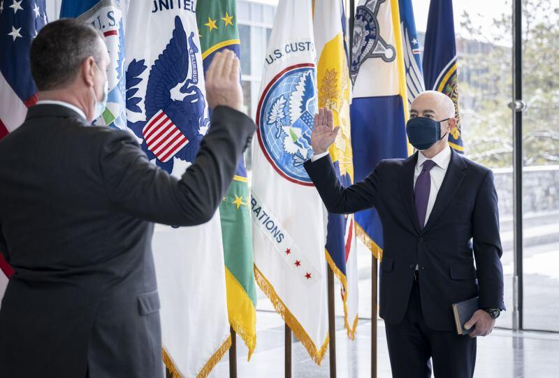 Today, Alejandro Mayorkas was officially sworn in as the seventh Secretary of Homeland Security. Secretary Mayorkas took the oath this afternoon after the Senate voted to confirm him. As Secretary of Homeland Security, Mayorkas now leads the third largest federal department in the United States. History and Notes Timestamp	Note 02/02/2021 - 21:10	Published by matthew.harmon Today, Alejandro Mayorkas was officially sworn in as the seventh Secretary of Homeland Security. Secretary Mayorkas took the oath this afternoon after the Senate voted to confirm him. As Secretary of Homeland Security, Mayorkas now leads the third largest federal department in the United States.