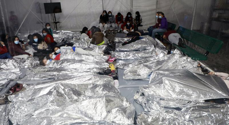 Photo of CBP facility in Donna, TX