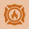Fire department icon