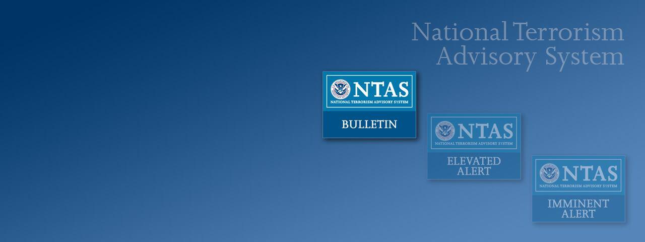 National Terrorism Advisory System Bulletin Updated and Extended Through November 16, 2016