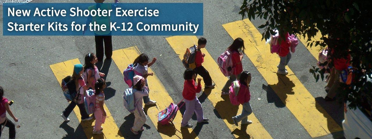 New Active Shooter Exercise Starter Kits for the K-12 Community