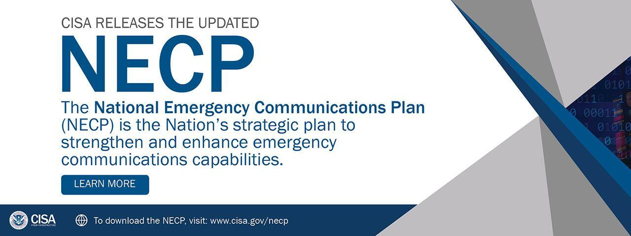 CISA releases the updated National Emergency Communications Plan