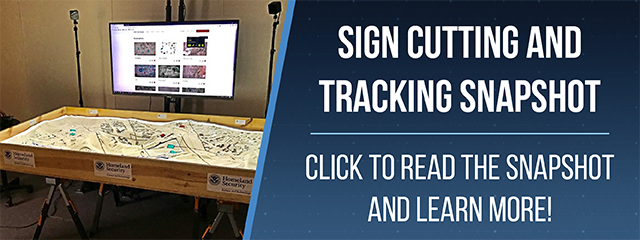 Sign Cutting and Tracking Snapshot. Click to read the snapshot and learn more!