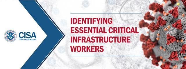 CISA.gov | Identifying Essential Critical Infrastructure Workers