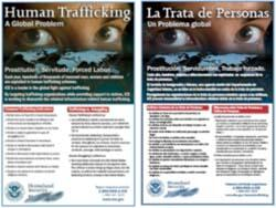 Images of the A Global Problem poster in English and Spanish