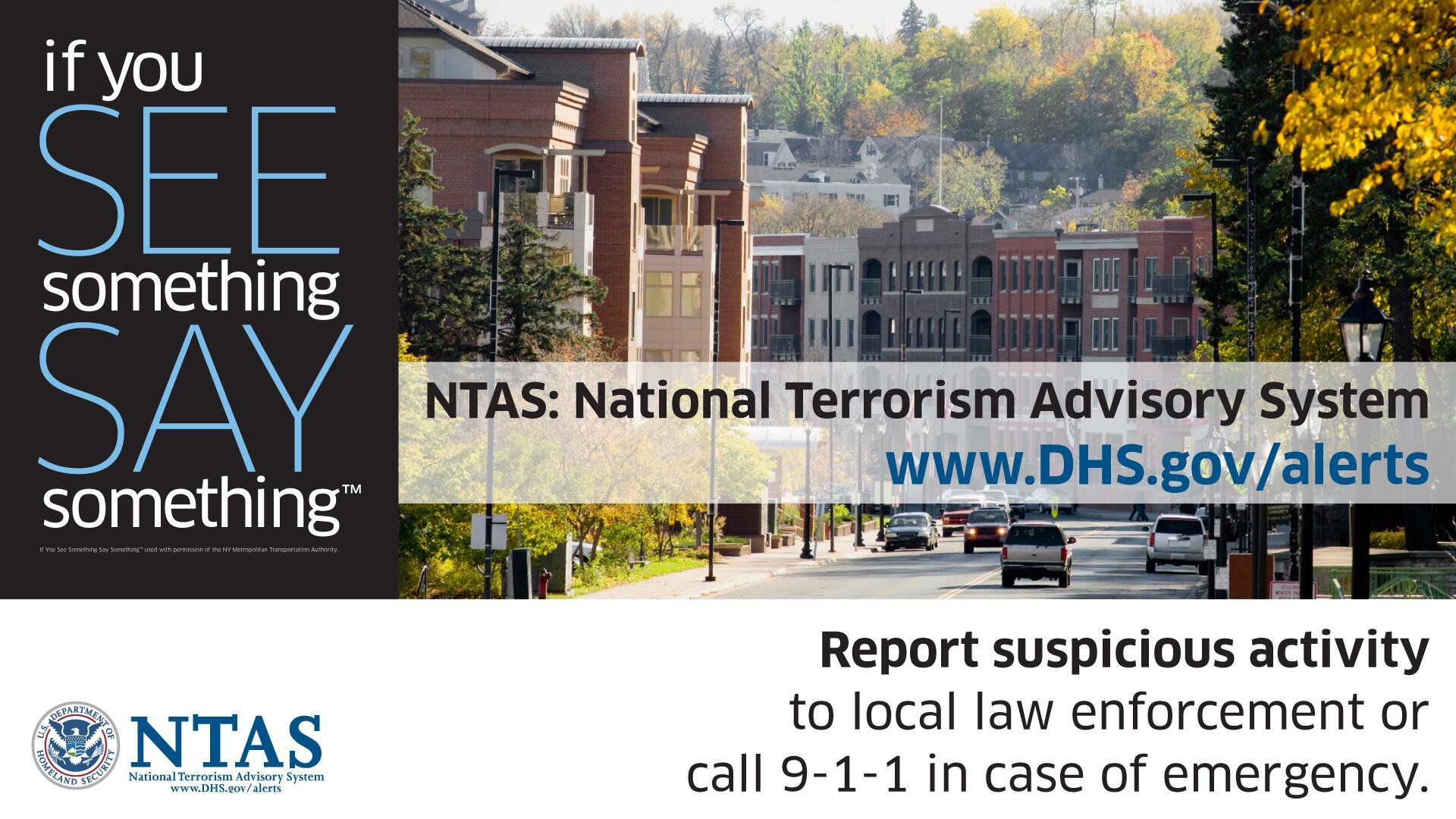 the national terrorism advisory system The system was replaced on april 27,2011 with a new system called the national terrorism advisory system, the system was created by homeland security presidential directive 3 on march 11,2002, in response to the september 11 attacks.