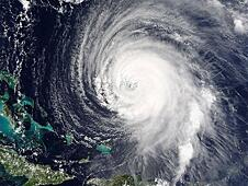 Hurricane Satellite Image - NASA