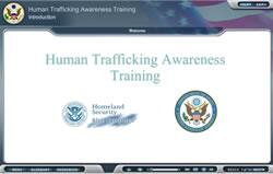 Human Trafficking Awareness Training Screen Shot