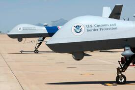 Customs and Border Protection patrol drones