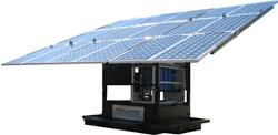 A candidate for certification by S&T's SECURE program, the Mobile MaxPure is a solar-powered, water-pumping, filtering and purifying machine.