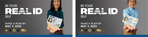 Be Your REAL ID Self - Make a Plan by October 1, 2021