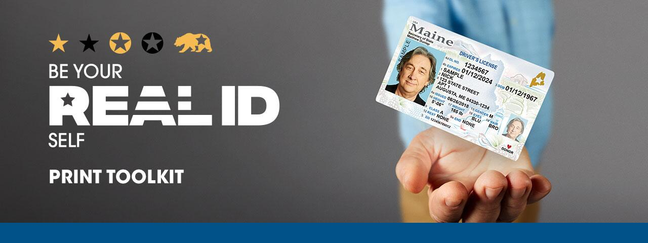 Be Your REAL ID Self Print Toolkit