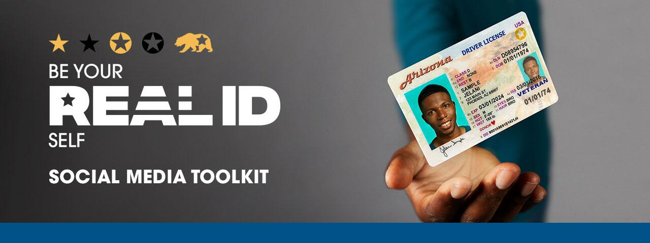 Be Your REAL ID Self Social Media Toolkit
